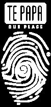 White Te Papa Logo