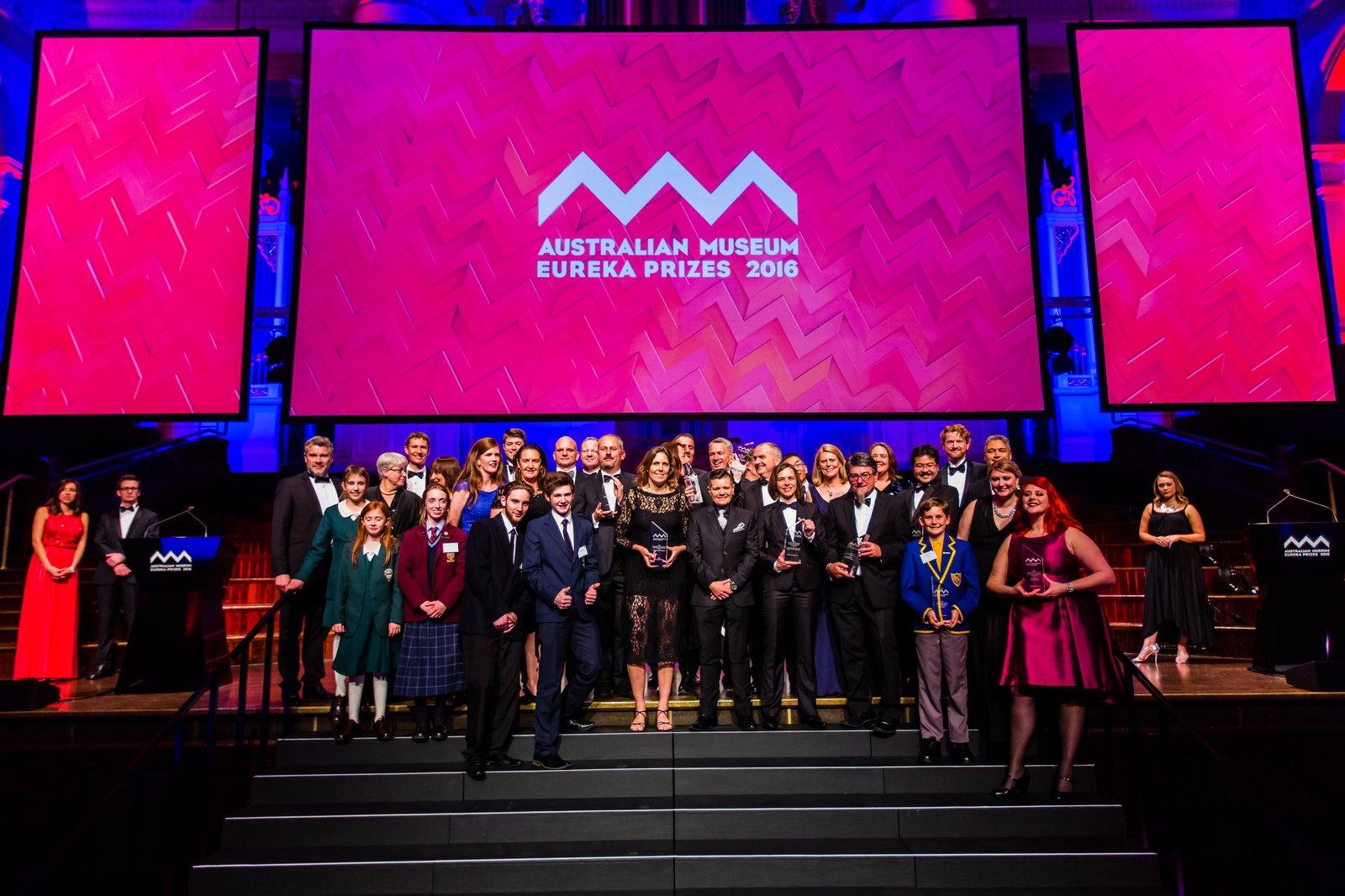 2016 Australian Museum Eureka Prizes winners