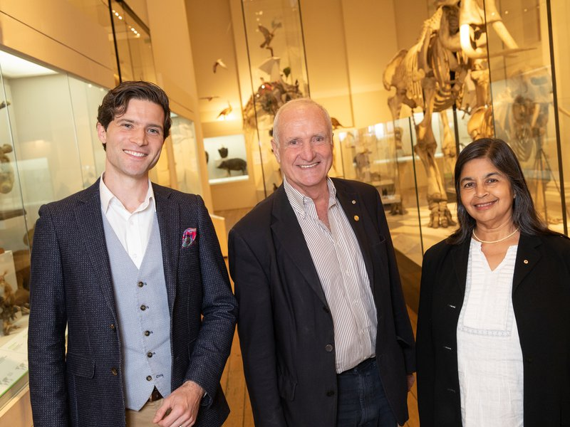 Eureka Prize winners Alan Duffy and Nalini Joshi in conversation with Robyn Williams
