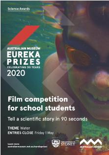 Sleek Geeks Science Eureka Prize - A 3 poster