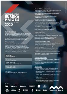 Information sheet - 2020 AM Eureka Prizes