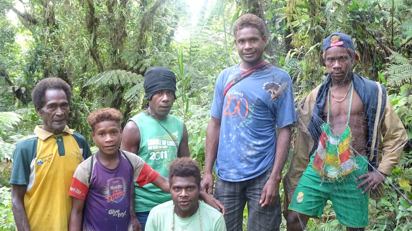 The Kwaio Rangers were already well trained in the use of mistnets (27)