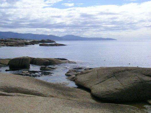 Northeastern view from Bicheno, Tasmania