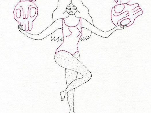 Art of the Skull: Feminine Myths #3