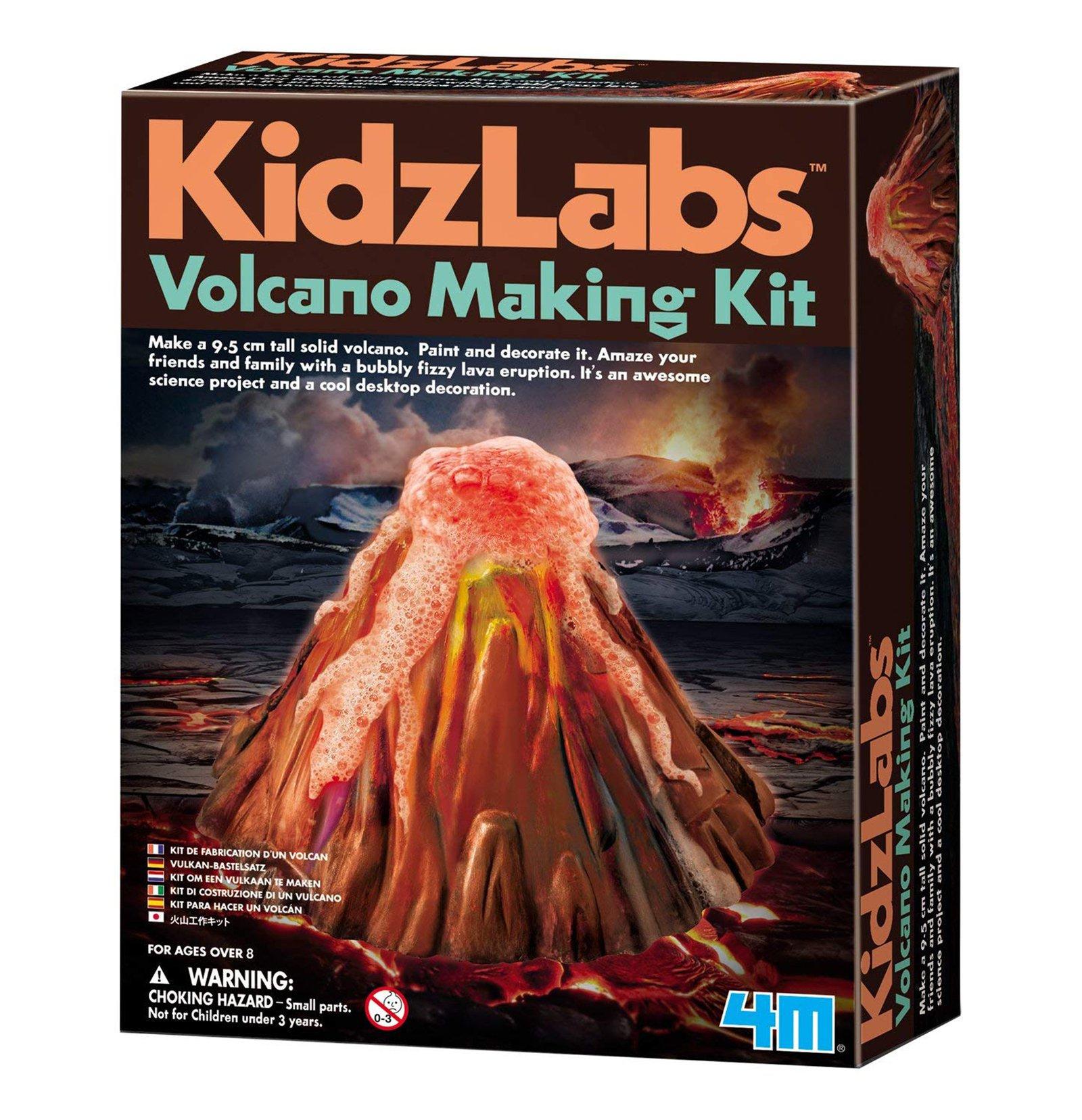 KidzLabs Volcano Making Kit