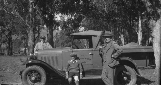 The Australian Museum's First Vehicle
