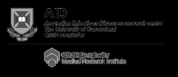 AID / QIMR logo (mono)