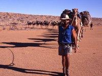 Andrew Harper in the Simpson Desert