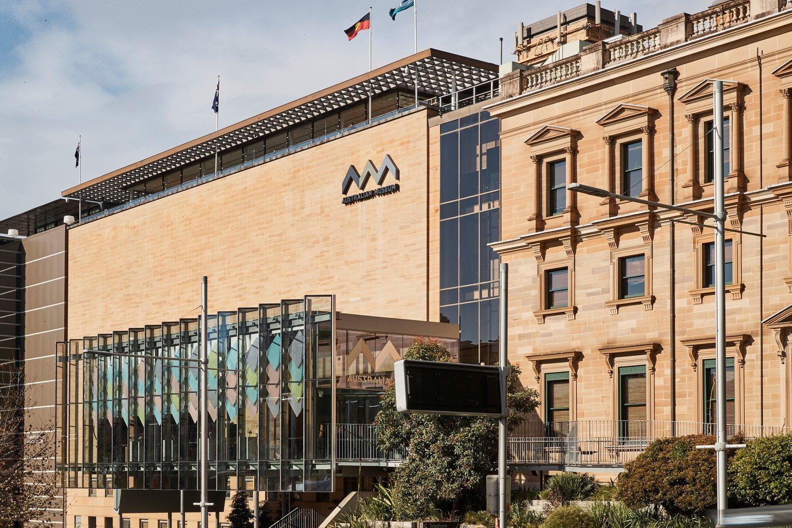 Australian Museum entrance