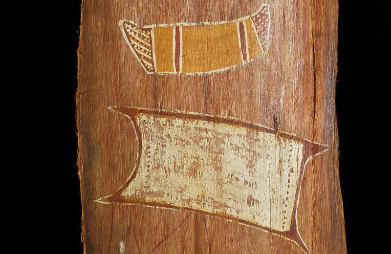 Bark painting - Arnhem Land