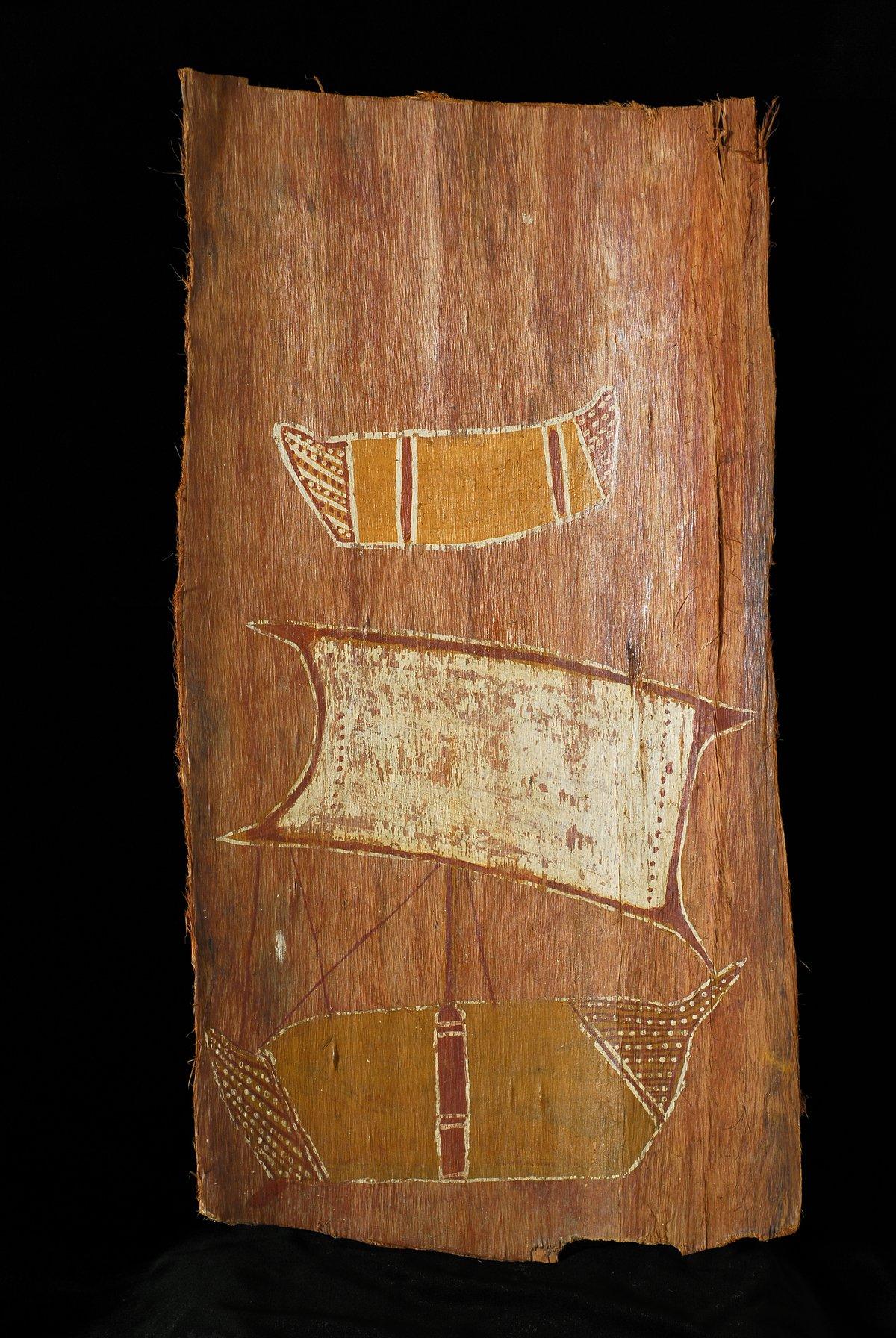 Bark painting from Arnhem Land, 1930s - The Australian Museum