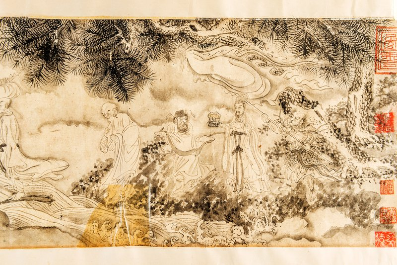 Chinese scroll painting H.533
