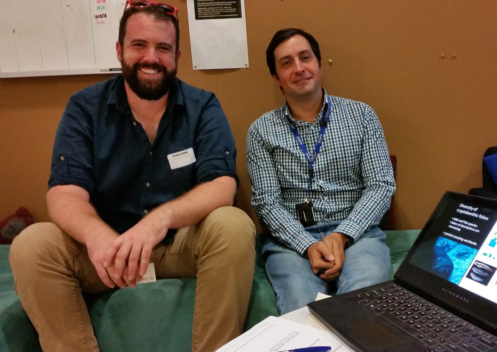 Chris Goatley and Joseph Dibattista