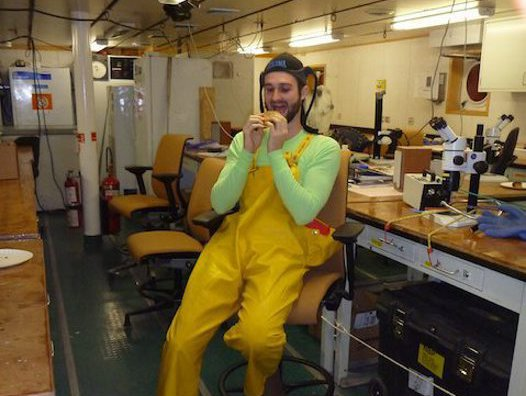 23 April: Feeding habits of the Antarctic Scientist (Scotia Arc Expedition 2013) #1