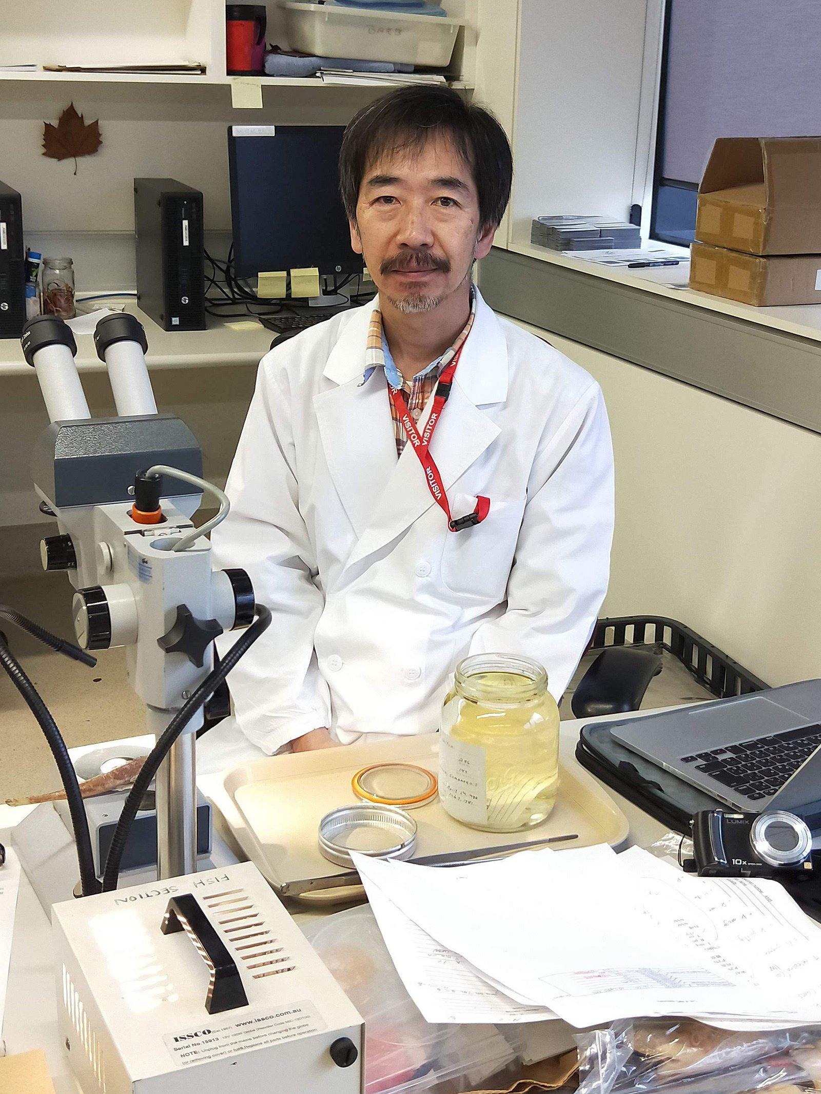 Dr Hisashi Imamura - 2018