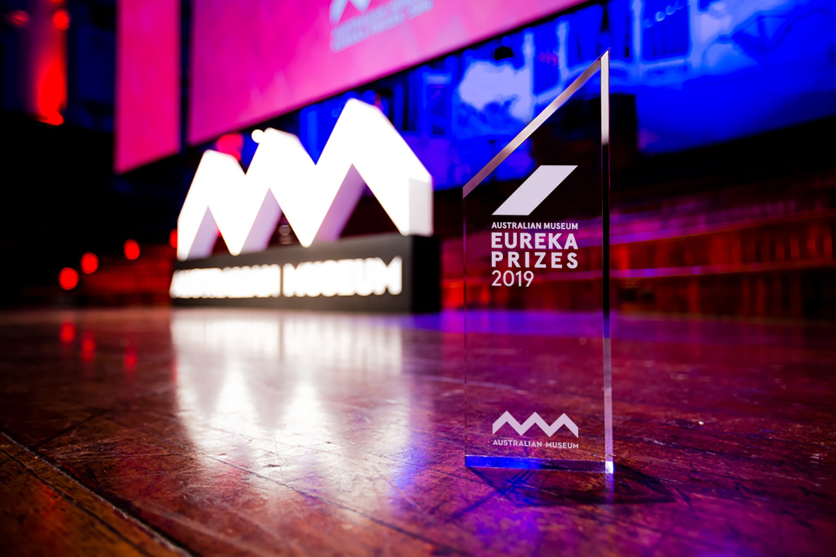 2019 Eureka Prizes trophy