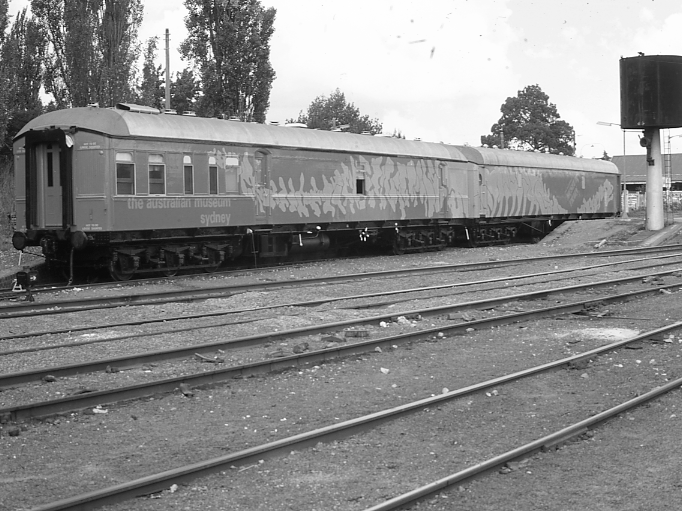 Australian Museum train