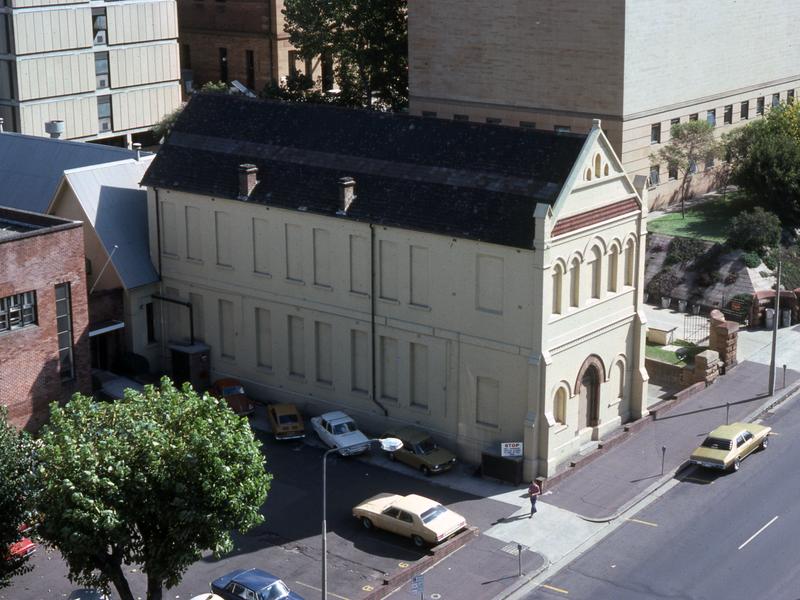 Former National School Building