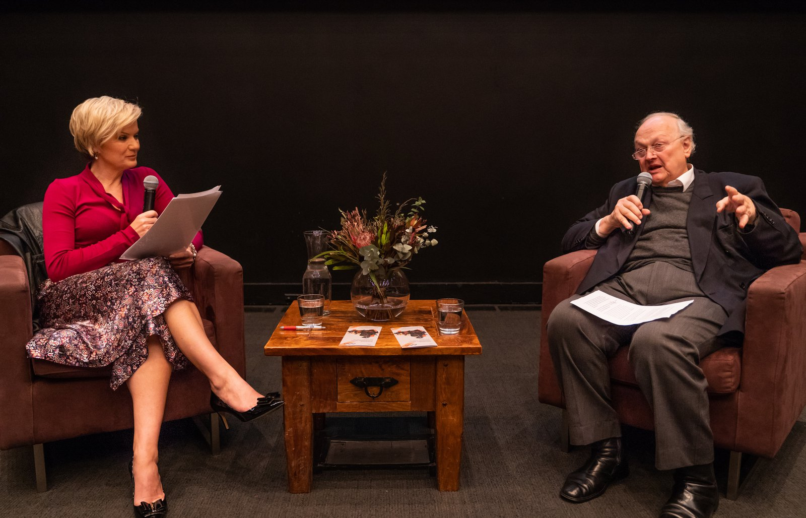 Glenn Murcutt with Sandra Sully – Lunchtime Conversations 2019
