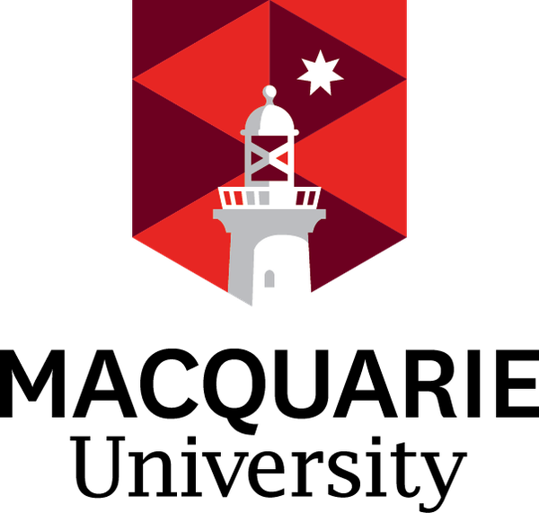 Macquarie University logo colour pos
