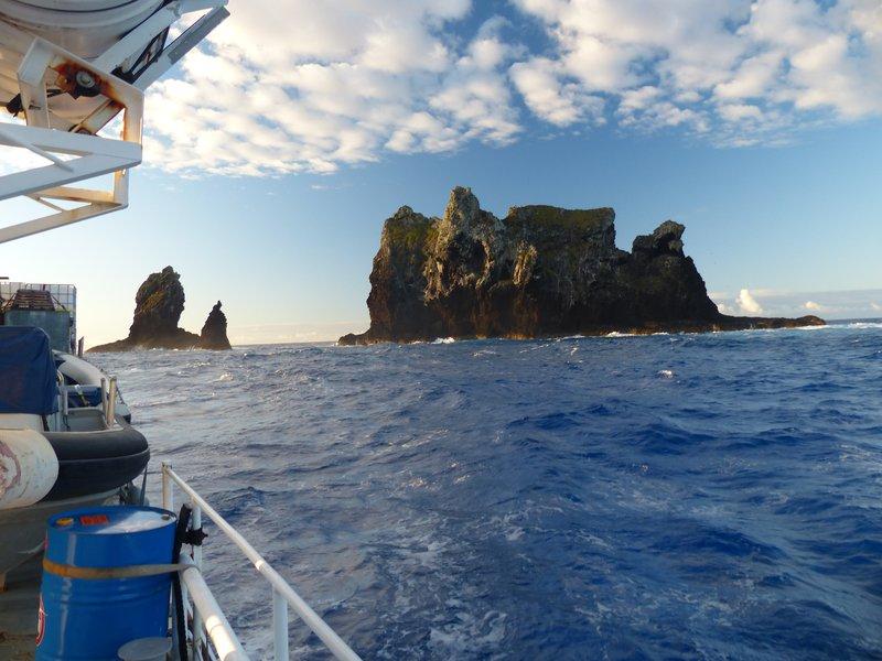 Marotiri Rocks 83 km ESE of Rapa - Southern French Polynesia Expedition, 2014