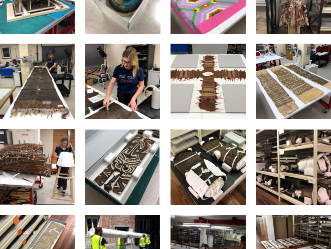 Materials Conservation Pacific Collections move