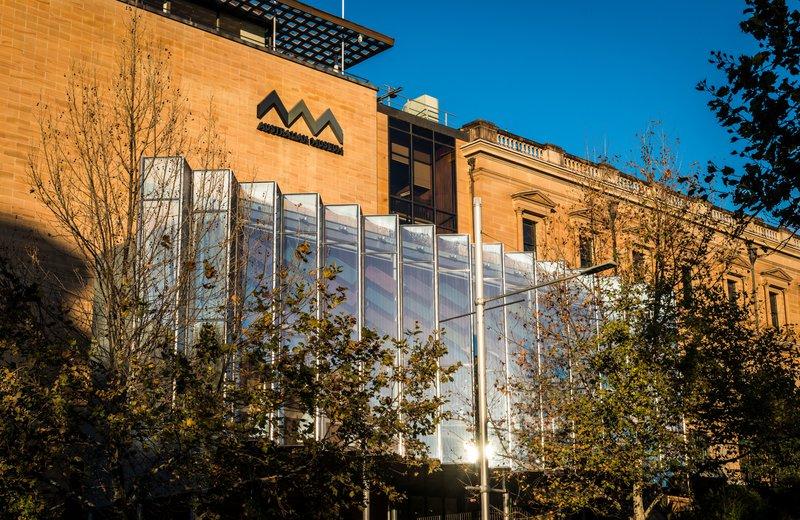 Exterior of Australian Museum building