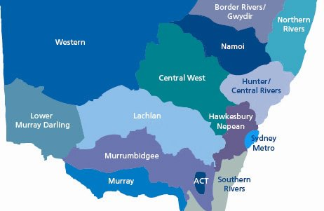 NSW catchments