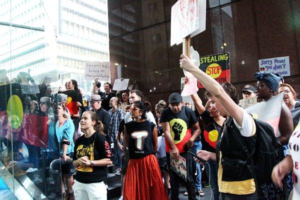 "Our Activists: Sunrise Protest (Image 2)"""