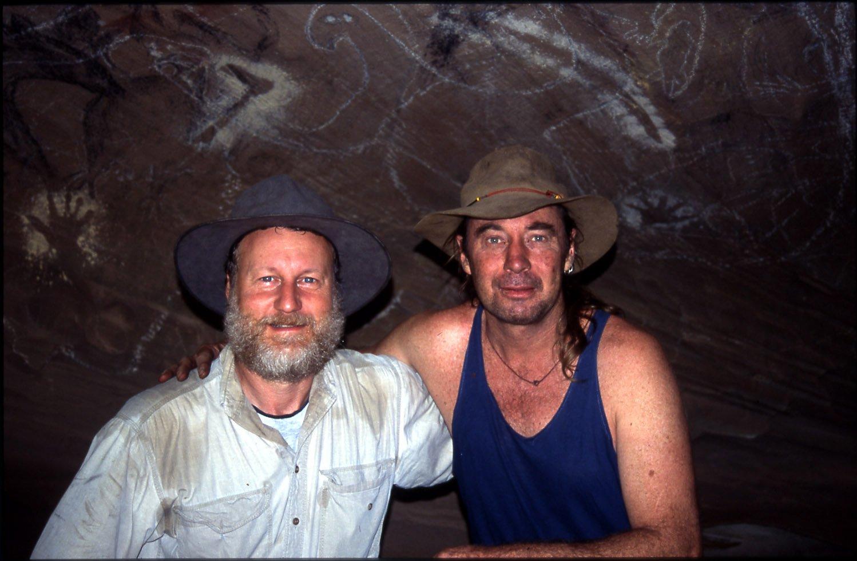 Paul Taçon & Wayne Brennan at Eagle's Reach