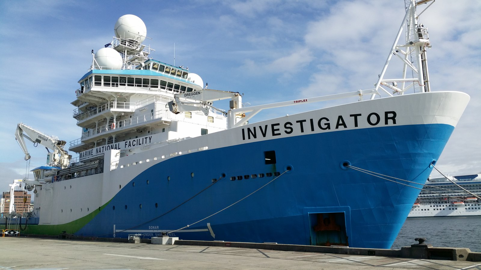 RV Investigator Expedition - November 2018
