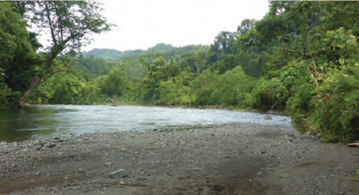 Riverbed in Malaita, Solomon Islands