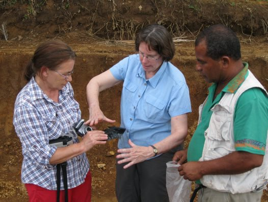 Ancient ceremonial stone tool rescued from bulldozer in Papua New Guinea