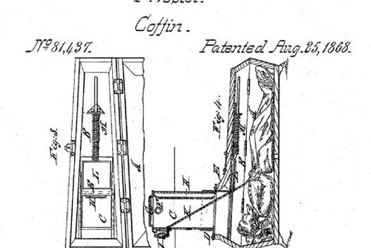 Safety coffin patent