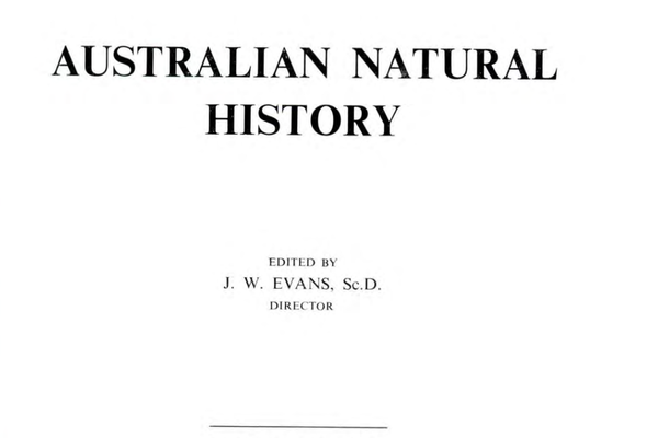 Australian Natural History magazine