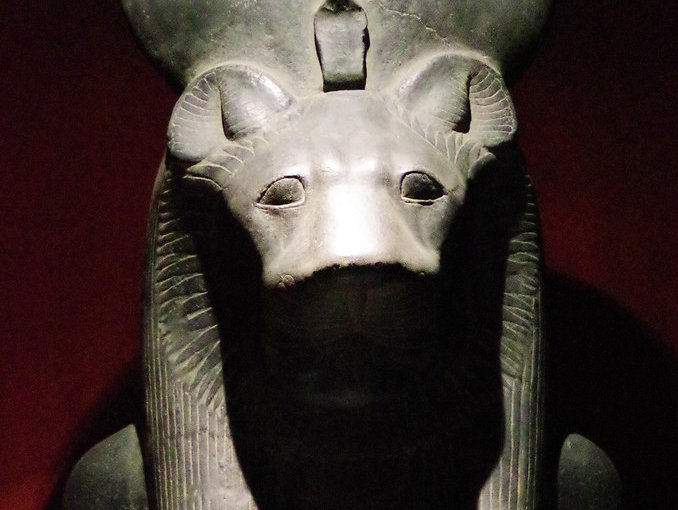 Sekhmet - the lion headed goddess.