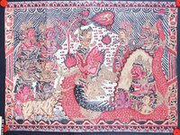 A tale of a Buddhist prince: Balinese painting E74182