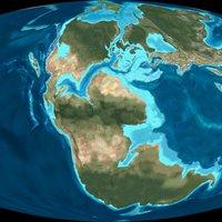 Miocene World Map.Evolving Landscape The Australian Museum