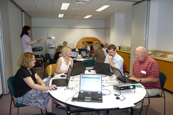 Teachers Austmus Web Workshop 09