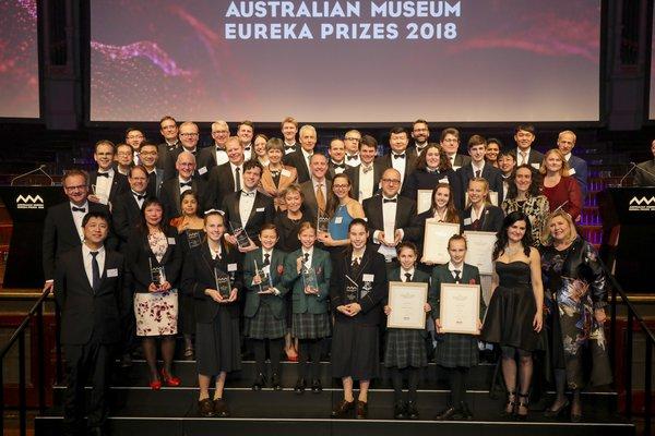 Eureka Prize 2018 Main Stage