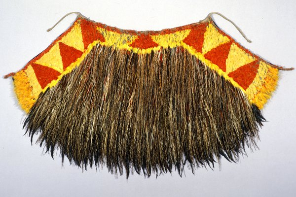 Feather cape