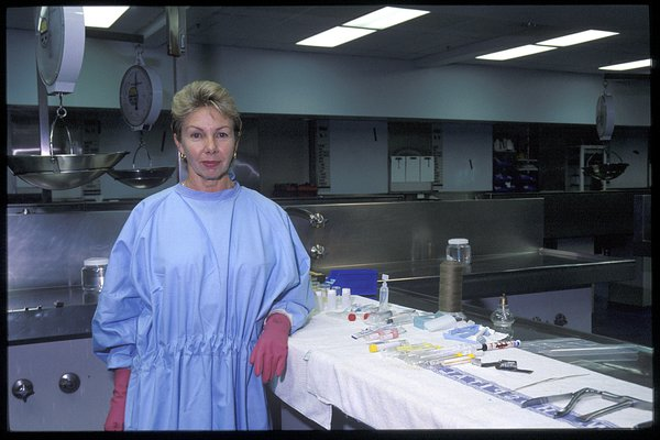 Julie Sinuks, Forensic Technician