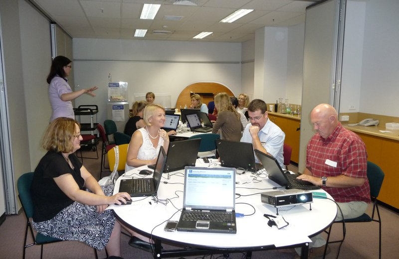 Teachers Austmus Web Workshop 09