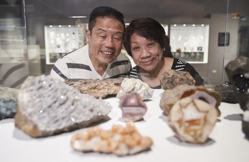 Older Couple in Minerals