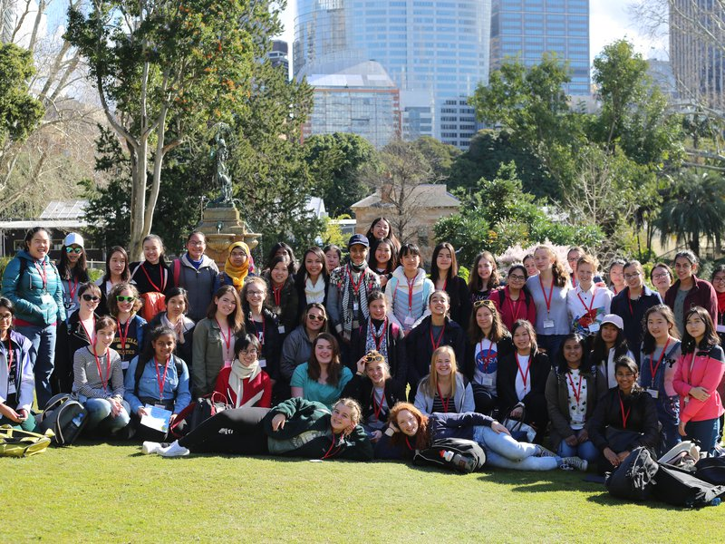 UNSW STEM Careers Week group photo