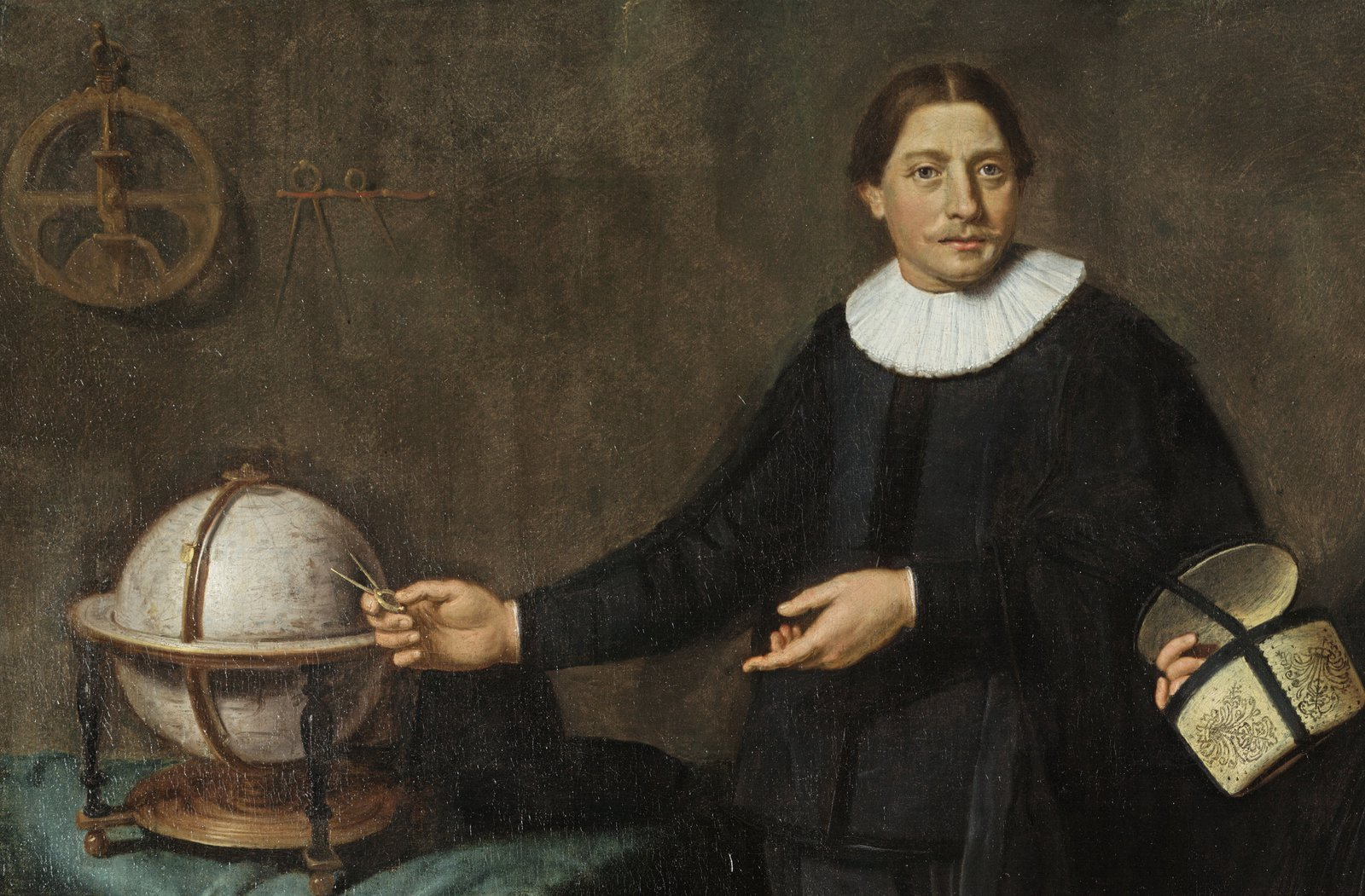 Portrait of Abel Tasman (detail)