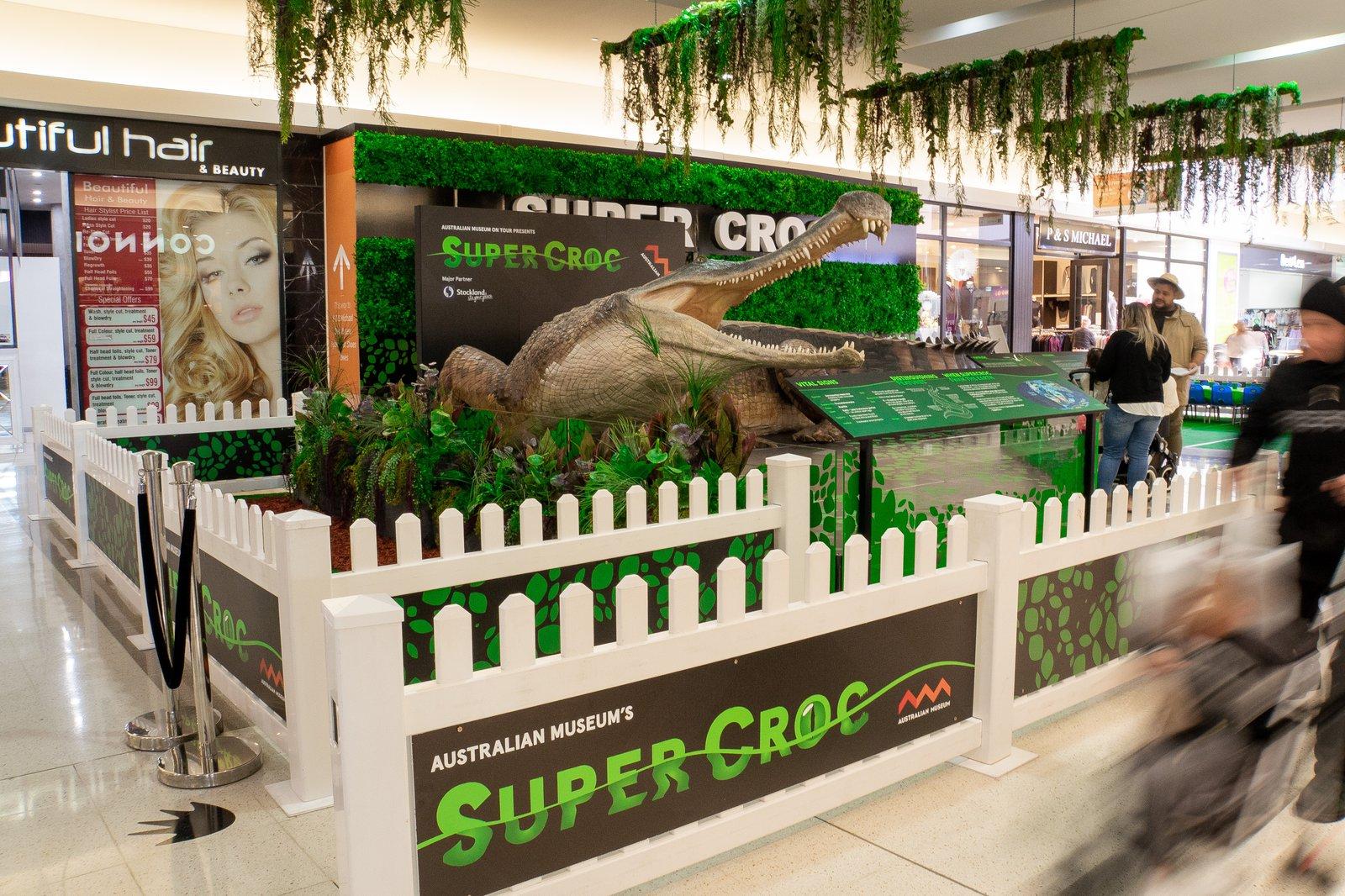SuperCroc at Stockland Merrylands