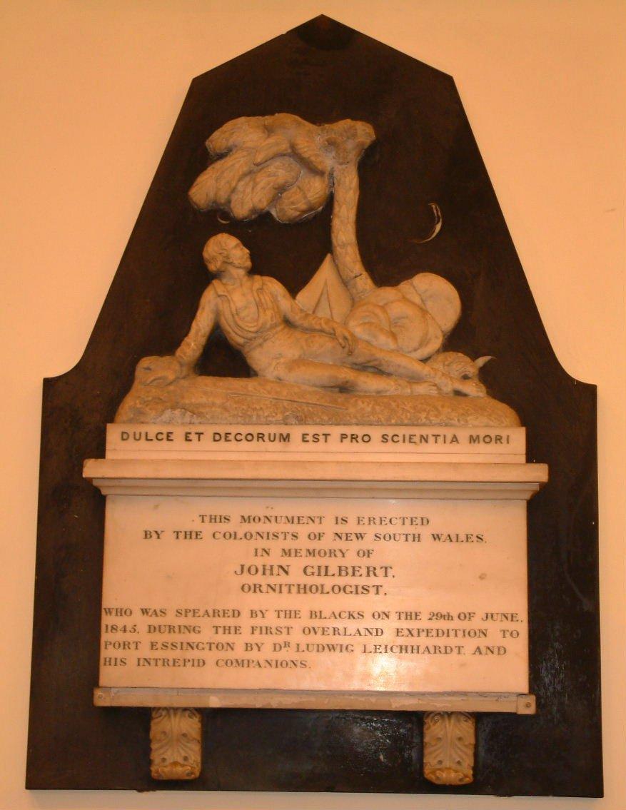 Gilbert's memorial