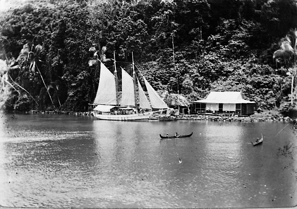Trading Station,Solomon Islands