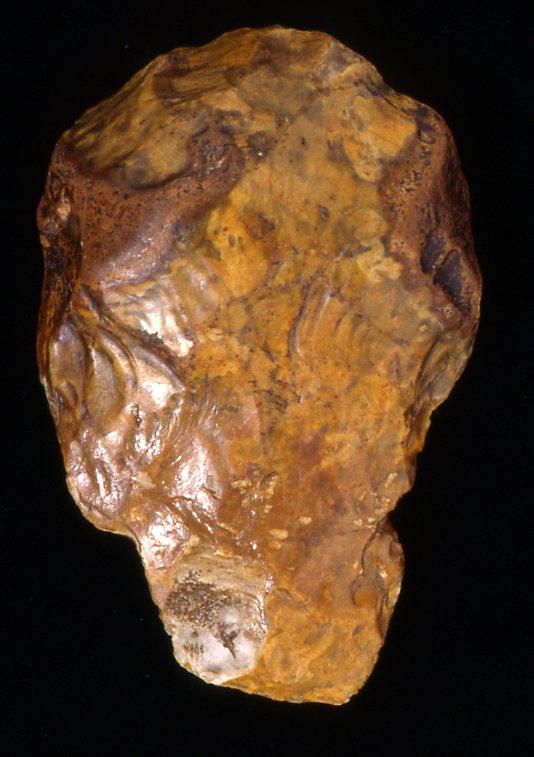 stone tool cast acheulean